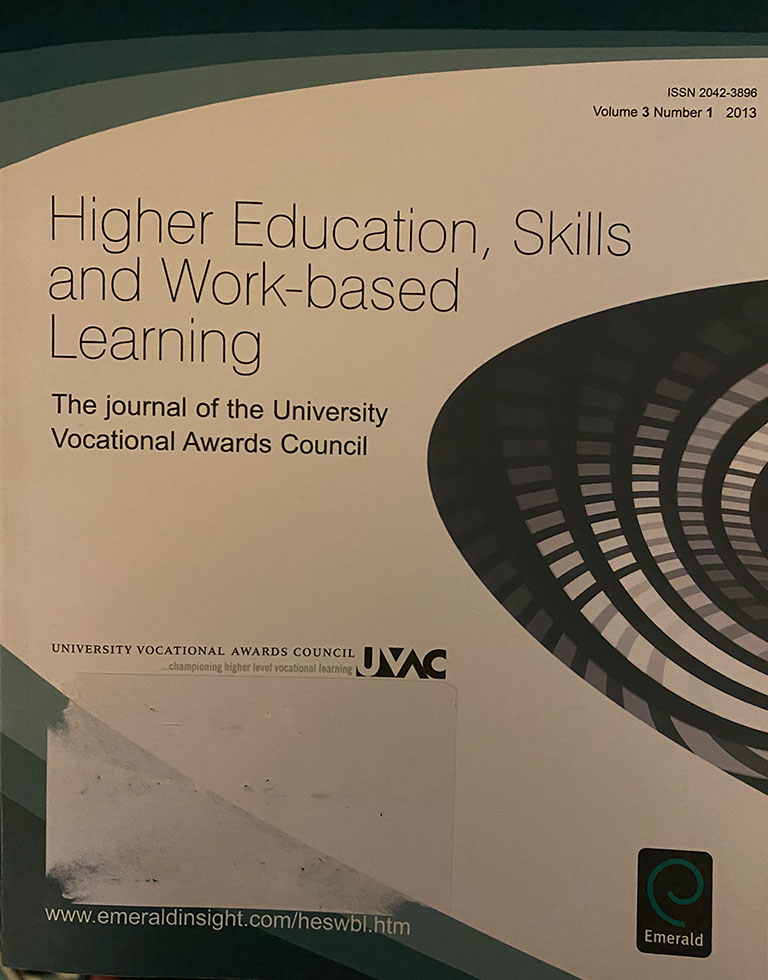 Educating the early career arts professional using a hybrid model of work based learning