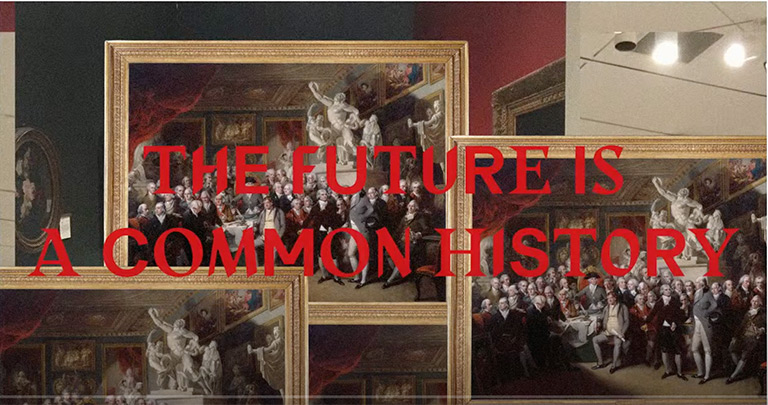 The Future is a Common History, talk hosted by Central Saint Martins